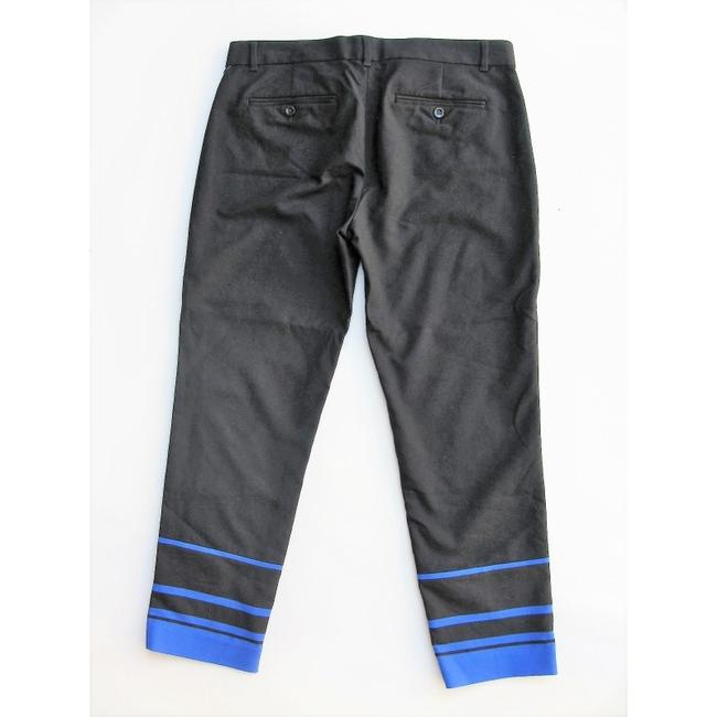 Gap Capri/Cropped Pants Black with Blue Image 3