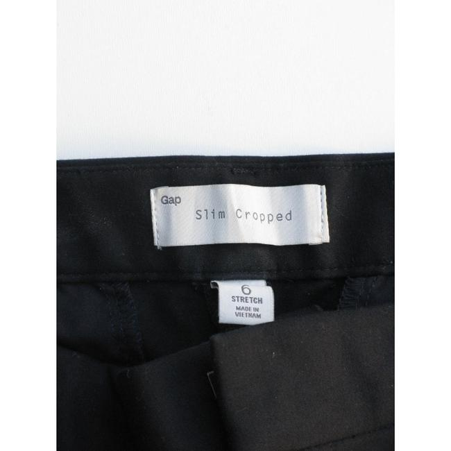 Gap Capri/Cropped Pants Black with Blue Image 4