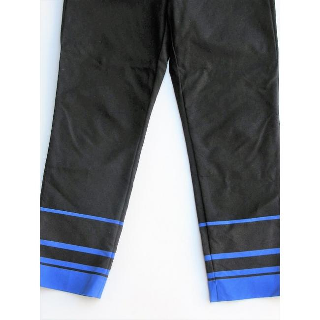 Gap Capri/Cropped Pants Black with Blue Image 5