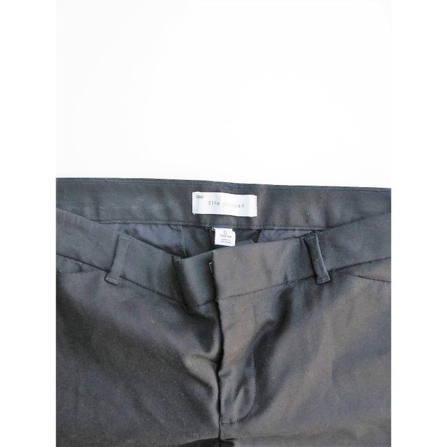 Gap Capri/Cropped Pants Black with Blue Image 6