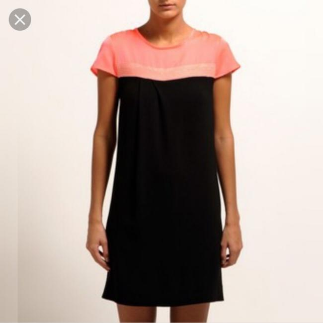 Maje short dress black and pink on Tradesy Image 1