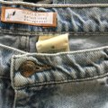 Roots & Wings Vintage Denim Refashioned One Of A Kind Christian Straight Leg Jeans-Distressed Image 3
