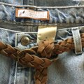 Roots & Wings Vintage Denim Refashioned One Of A Kind Christian Straight Leg Jeans-Distressed Image 8