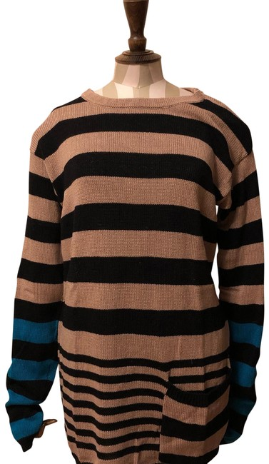 Preload https://img-static.tradesy.com/item/24623153/marc-by-marc-jacobs-black-and-brown-stripe-multi-colored-sweater-short-casual-dress-size-4-s-0-1-650-650.jpg