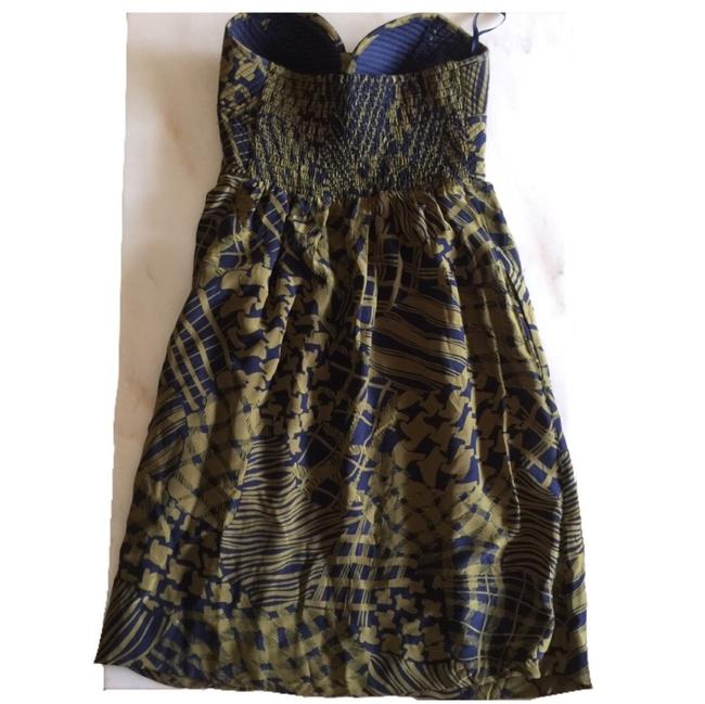Maple short dress green , navy blue on Tradesy Image 1