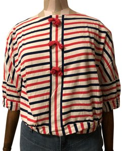 Marc by Marc Jacobs Top red white and blue