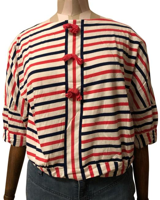 Preload https://img-static.tradesy.com/item/24623210/marc-by-marc-jacobs-red-white-and-blue-sailor-striped-blouse-size-8-m-0-1-650-650.jpg