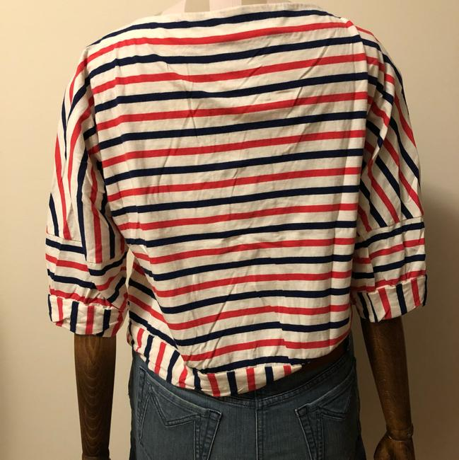 Marc by Marc Jacobs Top red white and blue Image 2