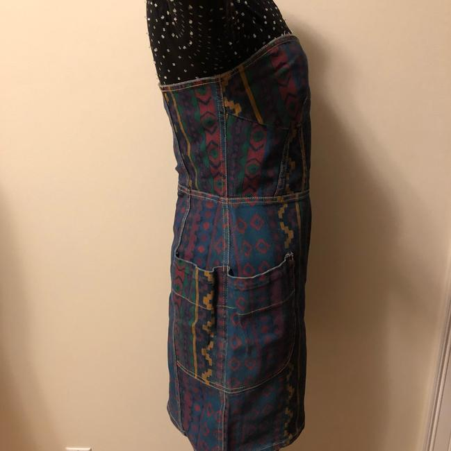 Marc by Marc Jacobs short dress navy blue purple green yellow on Tradesy Image 1