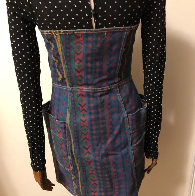 Marc by Marc Jacobs short dress navy blue purple green yellow on Tradesy Image 2