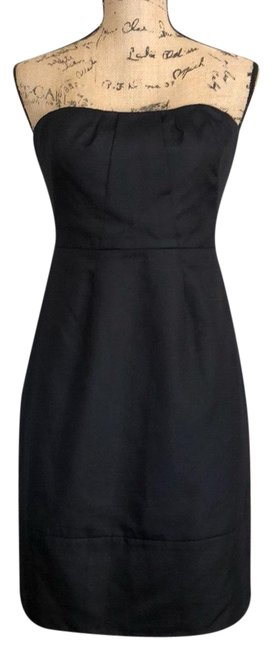 Preload https://img-static.tradesy.com/item/24623246/jcrew-black-strapless-short-cocktail-dress-size-4-s-0-1-650-650.jpg