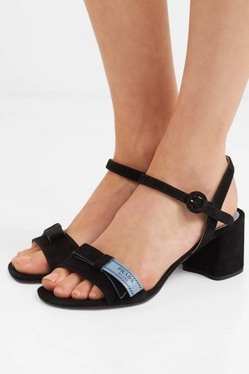Prada Black Sandals Image 7