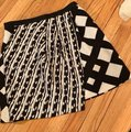 Peter Pilotto Mini Skirt Black and Cream Image 1