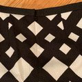 Peter Pilotto Mini Skirt Black and Cream Image 3
