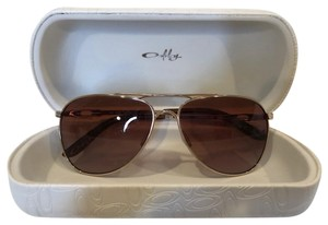 Oakley Tone It Up Daisy Chain Aviators Gold Frame with Brown Gradient Lenses