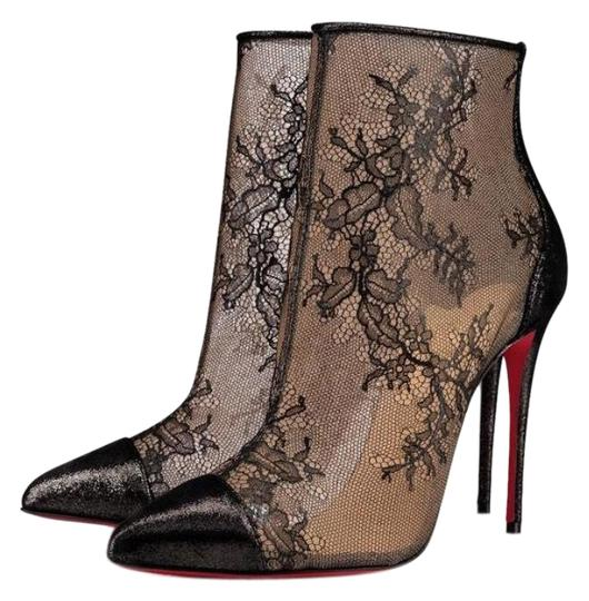 Preload https://img-static.tradesy.com/item/24623313/christian-louboutin-black-gipsybootie-lace-lame-suede-stiletto-bootsbooties-size-eu-36-approx-us-6-r-0-1-540-540.jpg