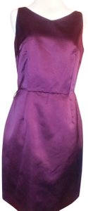 Ann Taylor Belted Polyester Dress
