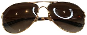Oakley Caveat Aviator Gold Frame with Brown Gradient Lenses