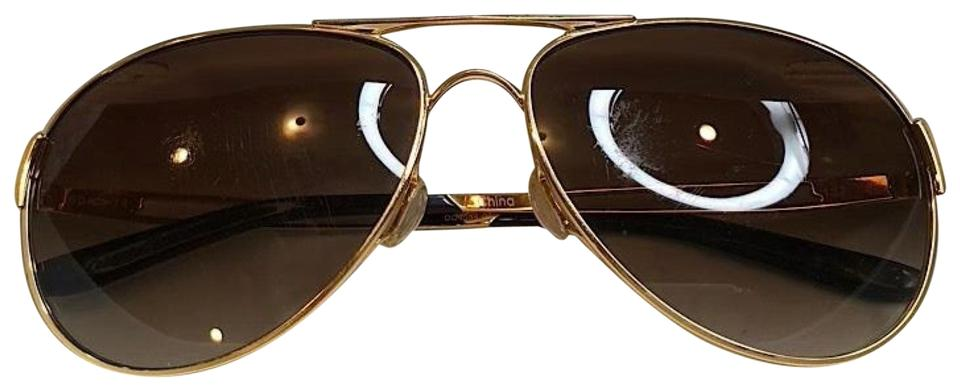 d685636a625 Oakley Caveat Aviator Gold Frame with Brown Gradient Lenses Image 0 ...