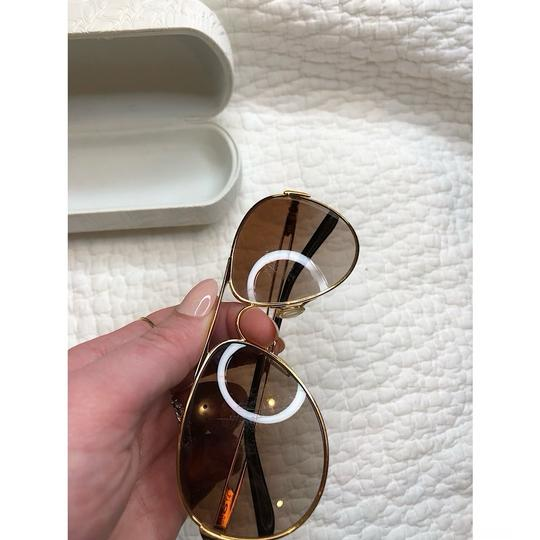 Oakley Caveat Aviator Gold Frame with Brown Gradient Lenses Image 11