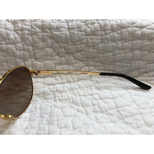 Oakley Caveat Aviator Gold Frame with Brown Gradient Lenses Image 6