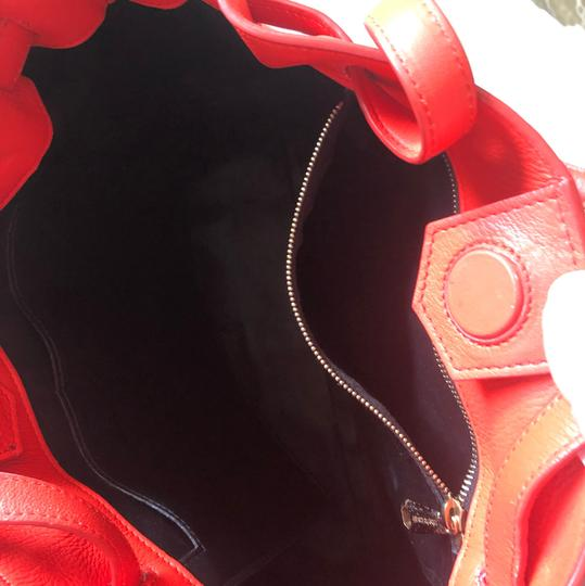 Roberto Cavalli Tote in fire red Image 3