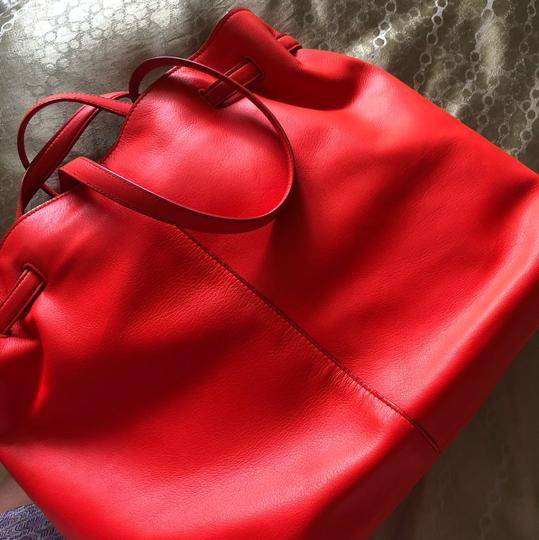 Roberto Cavalli Tote in fire red Image 5