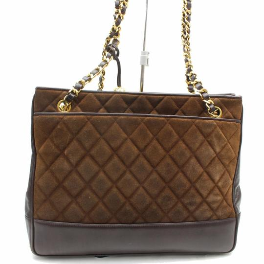 Chanel Gst Grand Classic Jumbo Caviar Shoulder Bag Image 1
