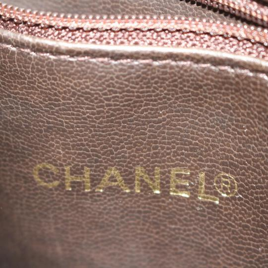 Chanel Gst Grand Classic Jumbo Caviar Shoulder Bag Image 8