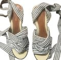 Sperry Blue & White Stripes Wedges Image 0