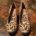 J.Crew Leopard (Brown/Tan) Wedges Image 1