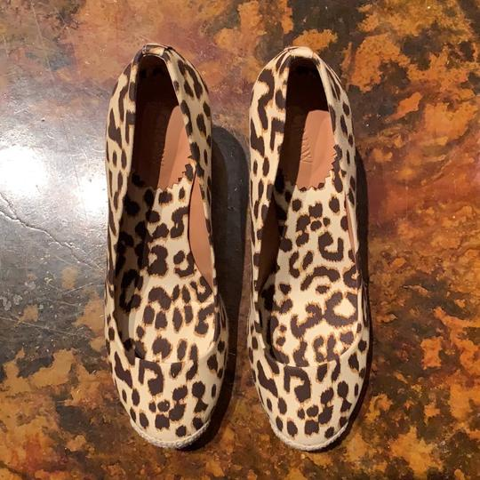 J.Crew Leopard (Brown/Tan) Wedges Image 2