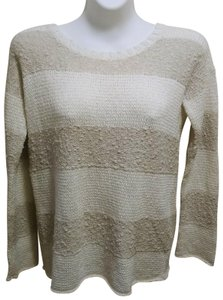 Calypso St. Barth Nolia Beige Cream Sweater