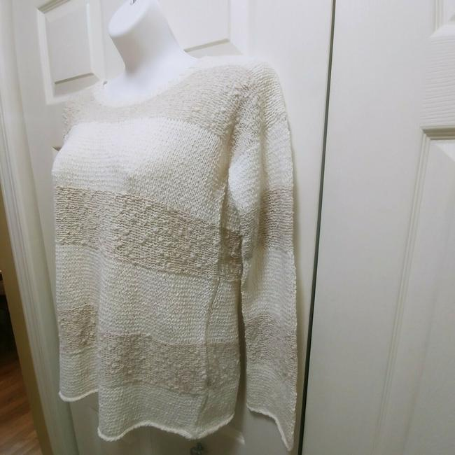 Calypso St. Barth Nolia Beige Cream Sweater Image 2