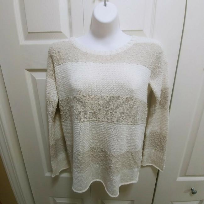 Calypso St. Barth Nolia Beige Cream Sweater Image 3