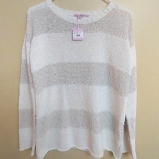 Calypso St. Barth Nolia Beige Cream Sweater Image 5