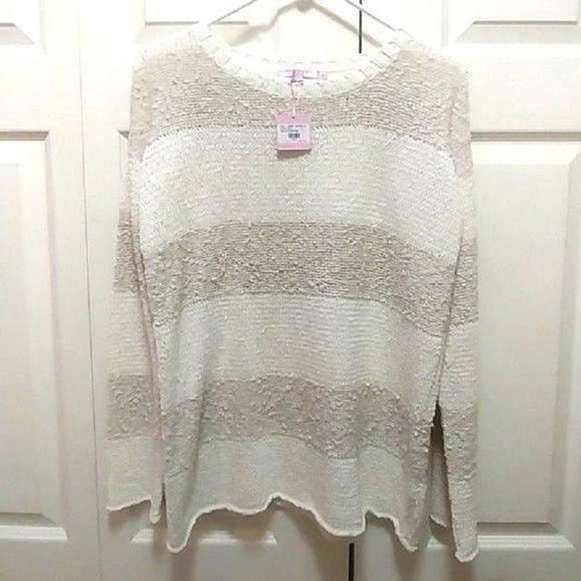 Calypso St. Barth Nolia Beige Cream Sweater Image 7