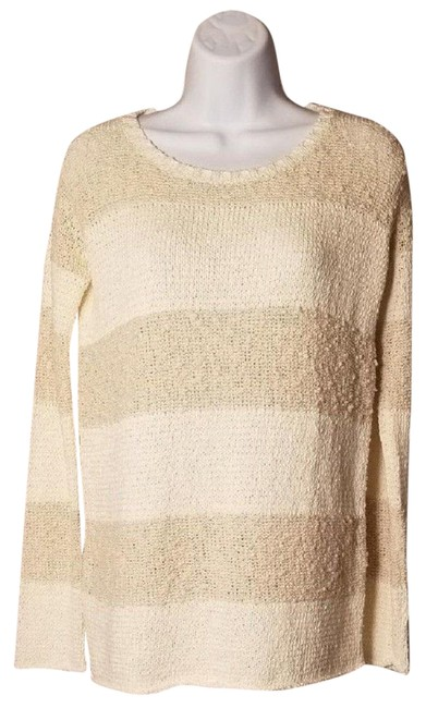 Calypso St. Barth Nolia Beige Cream Sweater Image 8