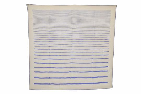 Preload https://img-static.tradesy.com/item/24623527/hermes-white-with-blue-lines-print-design-mousseline-silk-3-scarfwrap-0-0-540-540.jpg