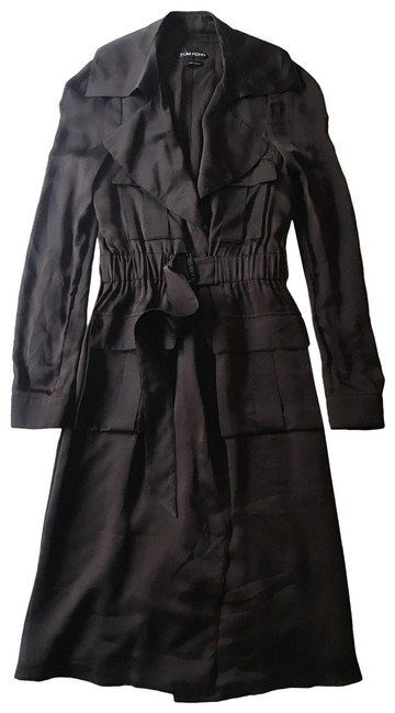 Preload https://img-static.tradesy.com/item/24623530/tom-ford-brown-silk-belted-long-sleeve-mid-length-cocktail-dress-size-6-s-0-2-650-650.jpg