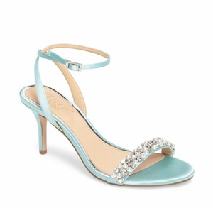 Badgley Mischka Blue Sandals