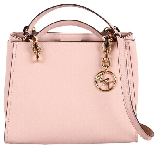 Michael Kors Medium Chain Md Ns Tote in pink Image 0
