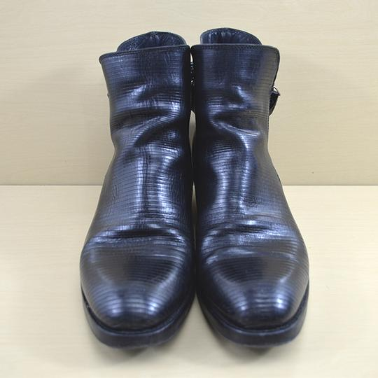 I.N.K. Fall Winter Holiday Leather Black Boots Image 1
