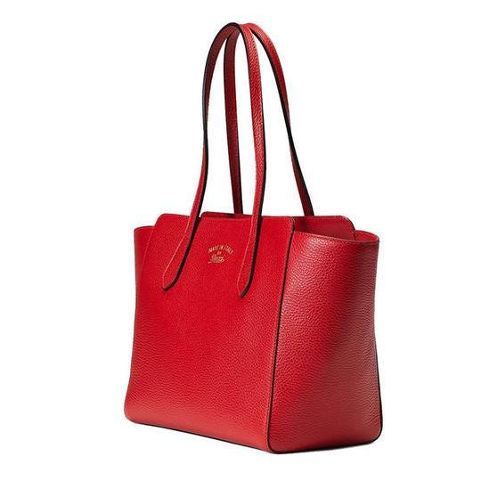 Gucci Swing Wing Marmont Sylvie Dionysus Tote in Red Image 1