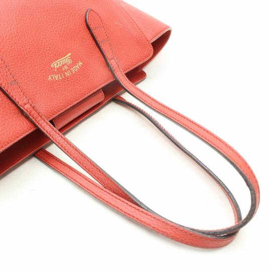 Gucci Swing Wing Marmont Sylvie Dionysus Tote in Red Image 4