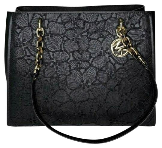 Preload https://img-static.tradesy.com/item/24623722/michael-kors-sofia-large-susannah-floral-embroidery-black-gold-saffiano-leather-tote-0-7-540-540.jpg