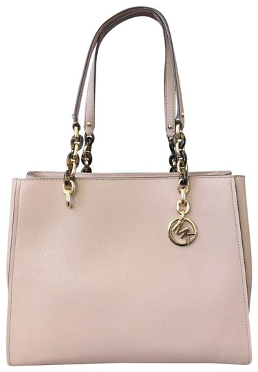Preload https://img-static.tradesy.com/item/24623769/michael-kors-sofia-susannah-large-pink-gold-saffiano-leather-tote-0-1-540-540.jpg