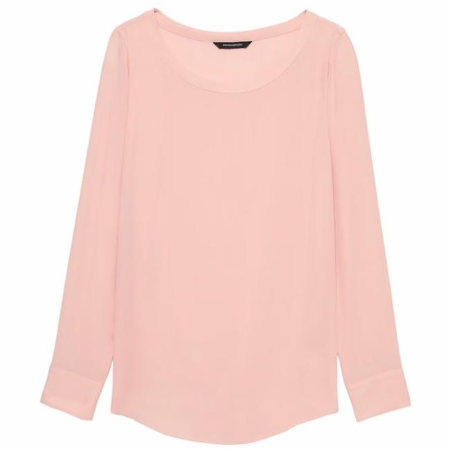 Banana Republic Top Pink Image 6