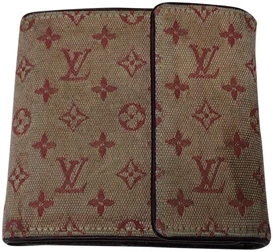 Preload https://img-static.tradesy.com/item/24623952/louis-vuitton-brown-red-preown-canvas-good-condition-wallet-0-1-540-540.jpg