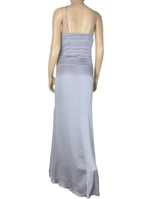 Blue Maxi Dress by BCBGeneration Purple Pleated Strappy Maxi Image 1